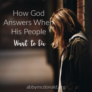 When God's People Want to Die